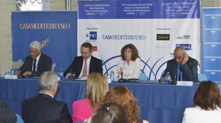 XXIII Asamblea General de la alianza de agencias de noticias del Mediterráneo (AMÁN)