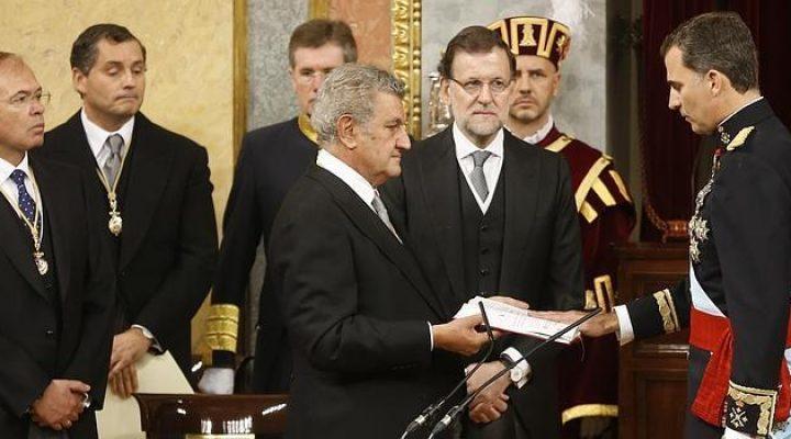 Ceremonial en el acto de Proclamación de Felipe VI