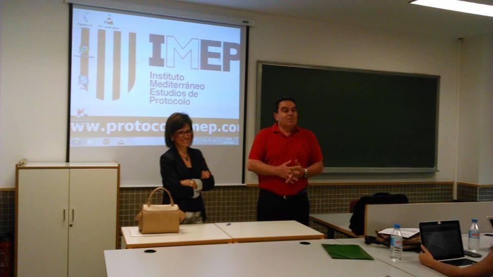 conferencias experiencia profesional ámbito protocolo