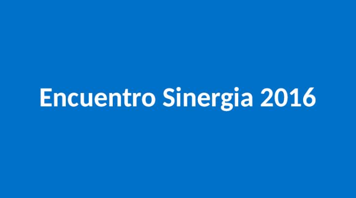 Gran éxito del Encuentro Sinergia 2016