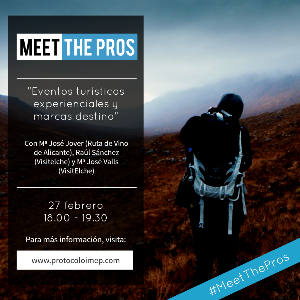 meet the pros - turismo