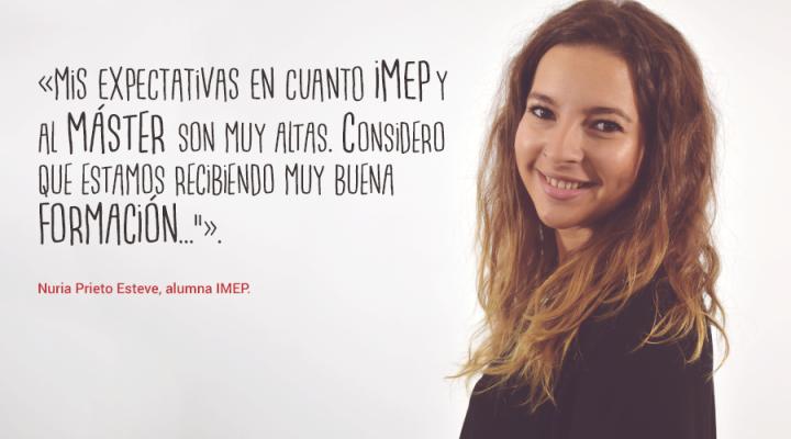 """Nuria Prieto: """"Siempre me han gustando mucho los eventos. Me parece un mundo increíble"""""""