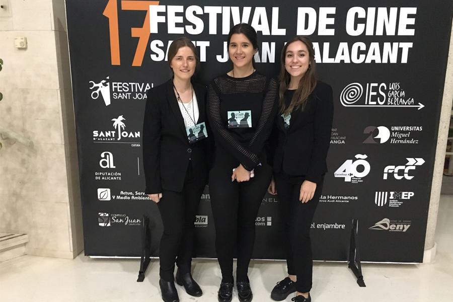 De izquierda a derecha: Rocío, María y Claudia.