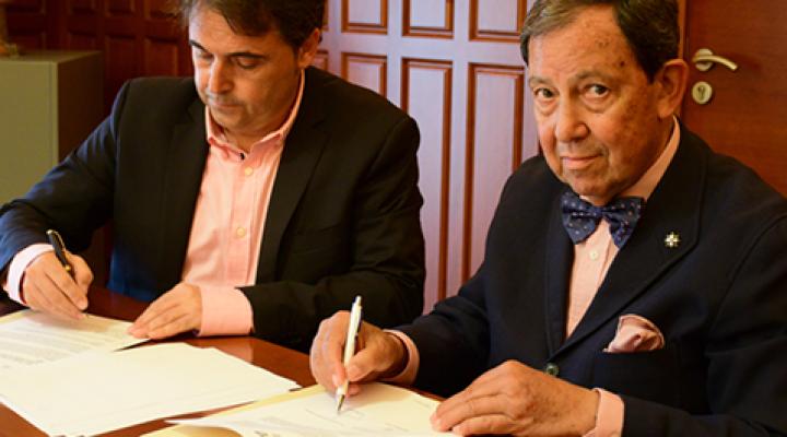 Nuevo convenio de colaboración entre IMEP y la AEP