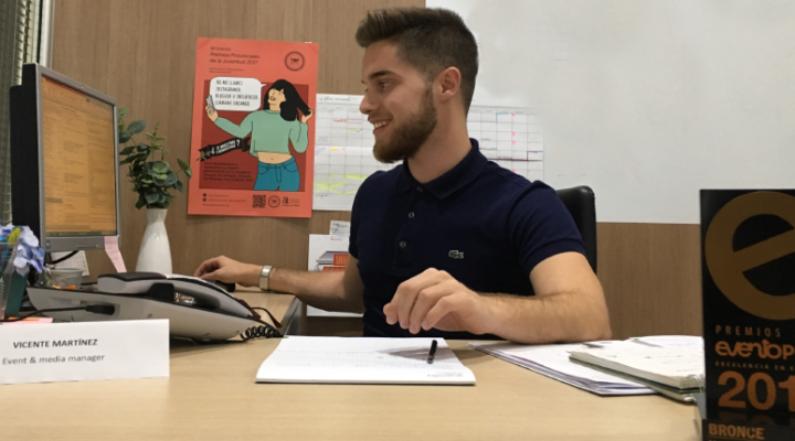 "Vicente Martínez: ""Si no te gusta ser event manager lo descubrirás en tu primer evento"""