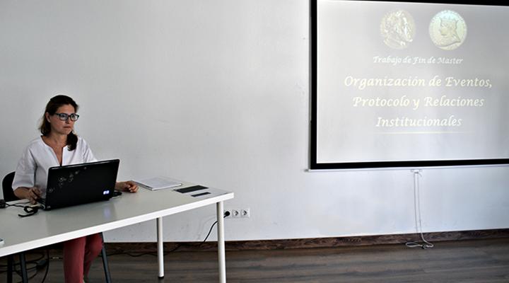 """María Davia, alumni IMEP: """"En la organización de eventos no se puede dar nada por hecho"""""""