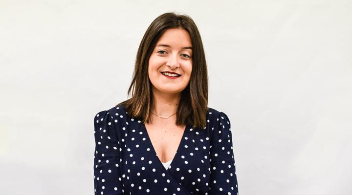 Laura Orive, alumni IMEP, nos cuenta su experiencia en el Máster Oficial y su labor en la organización del Pabellón Comunitat Valenciana.