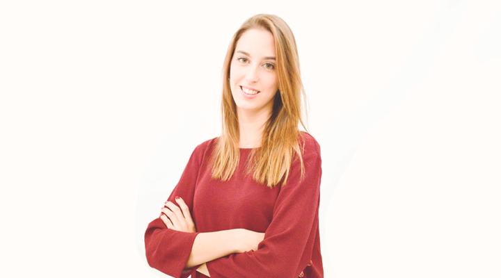 """Sandra Fernández, alumna de IMEP: """"El Máster Oficial en Organización de Eventos, Protocolo y RRII me pareció el más completo de todos los que encontré"""""""