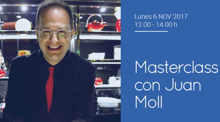 Masterclass en el Experto Universitario en Maître con Juan Moll