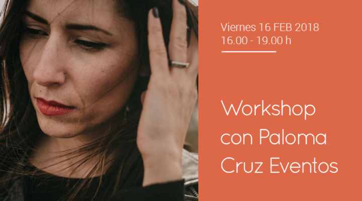 "Taller de ""Wedding Planner"" con Paloma Cruz Eventos"