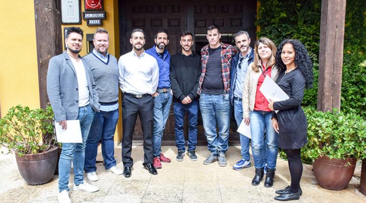 Alumnos del Experto Universitario en Maître – Jefe de Sala visitaron La Finca