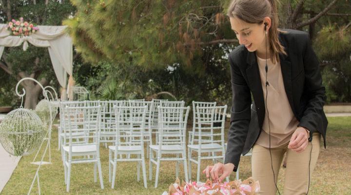 """Sandra Fernández, wedding planner y alumni IMEP: """"La recompensa de hacer feliz a una pareja el día de su boda, hace que el trabajo valga mucho la pena"""""""