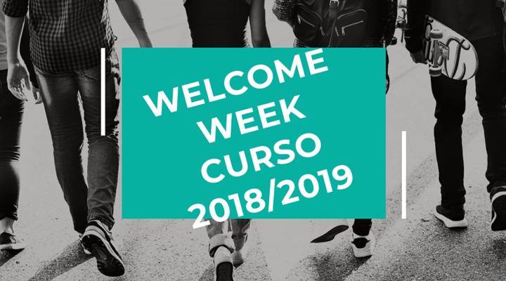 Welcome Week – Inicio de clases curso 2018/2019