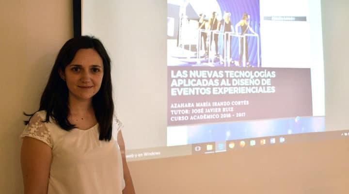 """Azahara Iranzo, alumni IMEP: """"Los profesores son muy cercanos y siempre tratan de adaptarse a tus horarios"""""""