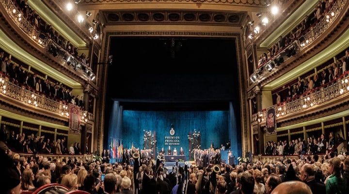 ¡Ven a ver la Ceremonia de entrega de los Premios Princesa de Asturias 2018 en IMEP!