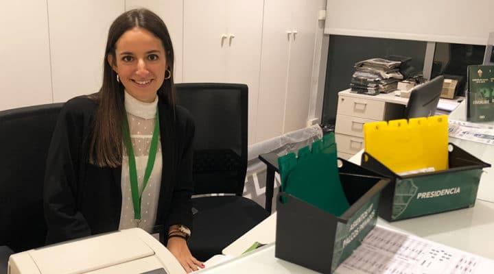 EXPERIENCIAS: Andrea Casado, alumna del Grado en Organización de Eventos, Protocolo y RRII