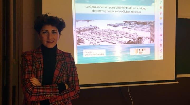 Paula González, docente de IMEP, participa en La Laguna en un congreso sobre comunicación social