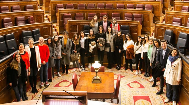 Segunda parada Aula en Ruta 2018: Congreso de los Diputados