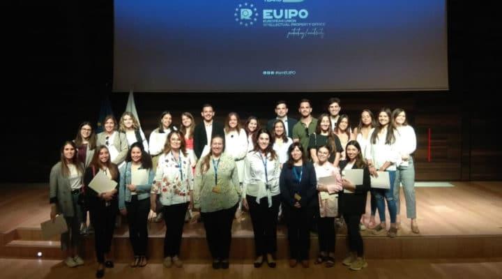 Alumnos de IMEP asisten a las Jornadas sobre Relaciones Institucionales y Protocolo de la EUIPO