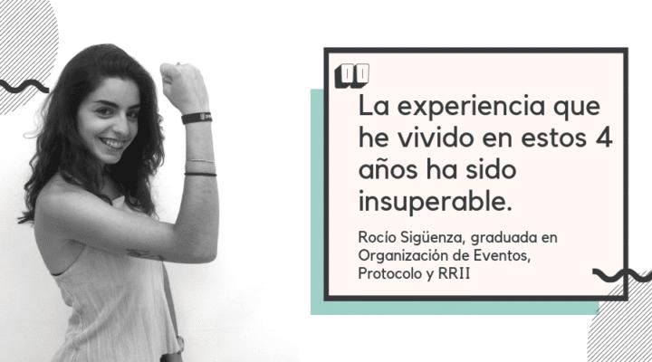 """Entrevista a Rocío Sigüenza: """"La experiencia que he vivido en estos 4 años ha sido insuperable"""""""