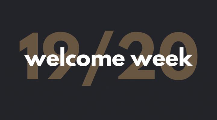 Welcome Week – Curso 2019/2020