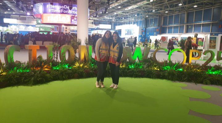 EXPERIENCIAS | Nuria Torrens y Nieves Sánchez nos cuentan su experiencia en la Cumbre del Clima de Madrid 2019