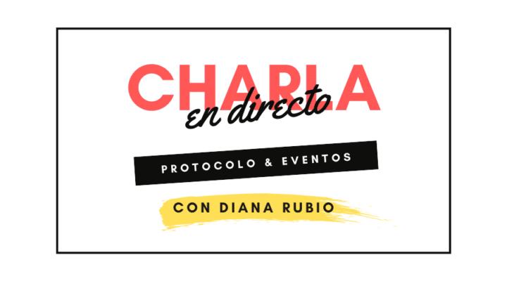 Charla en directo con Diana Rubio