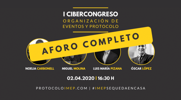 I Cibercongreso en Organización de Eventos y Protocolo