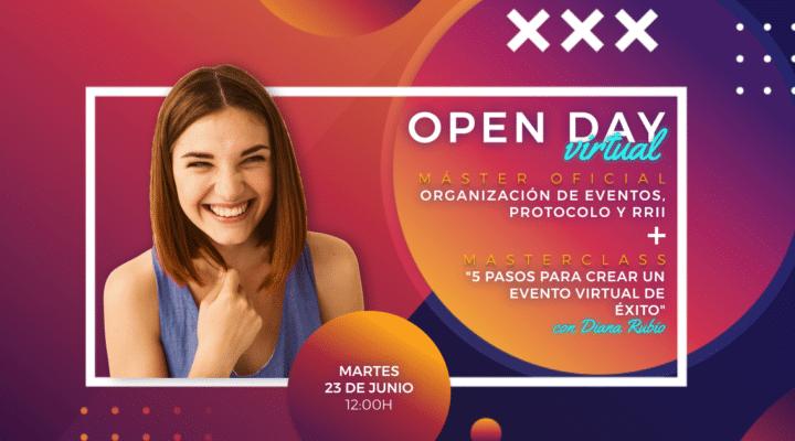 Revelamos 5 pasos para organizar eventos virtuales de éxito en el próximo Open Day Virtual de IMEP