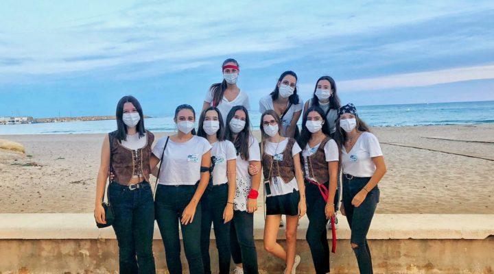 Alumnas de IMEP organizan una gymkana para el Ayuntamiento de El Campello