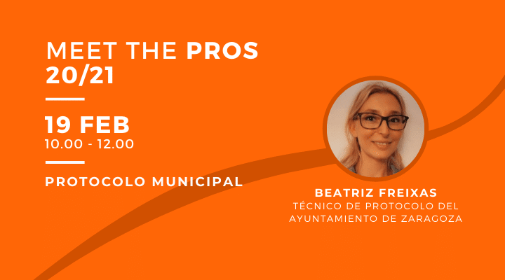 MEET THE PROS | Protocolo municipal con Beatriz Freixas