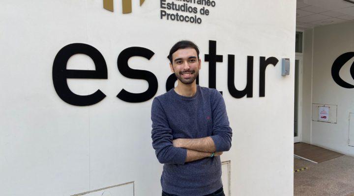 EXPERIENCIAS IMEP | Nassim Haoua, alumno del Grado en Organización de Eventos, Protocolo y RRII