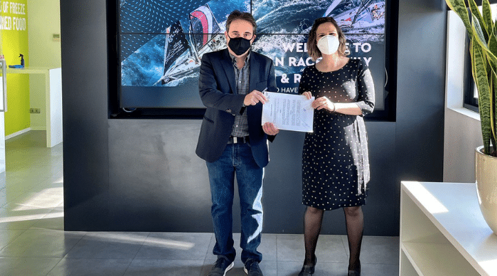 IMEP firma un convenio de colaboración con The Ocean Race