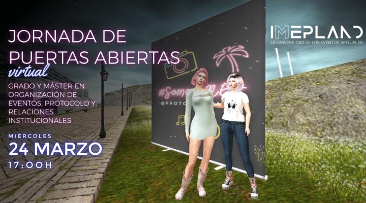 Jornada de Puertas Abiertas virtual en IMEP Land