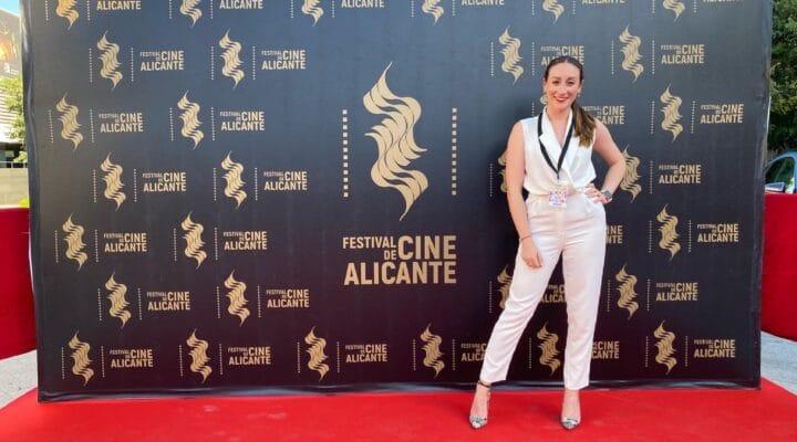 """""""Las prácticas en el 18º Festival de Cine de Alicante han sido una de las mejores cosas del Máster""""- Irene Pascual, alumna del Máster"""