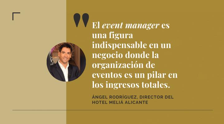 Entrevista a Ángel Rodríguez, Director del Hotel Meliá Alicante