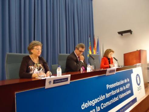 La AEP ha presentado en Valencia su Delegación Territorial
